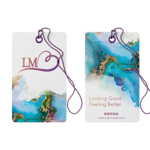 Hang Tag Design for Women's Leggings