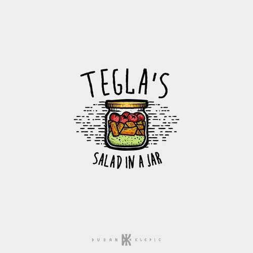 Tegla's Salad In A Jar