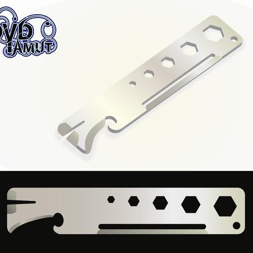Fashionable & functional Metal Multi Tool design needed