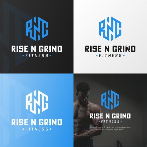 RISE N GRIND / Logo.