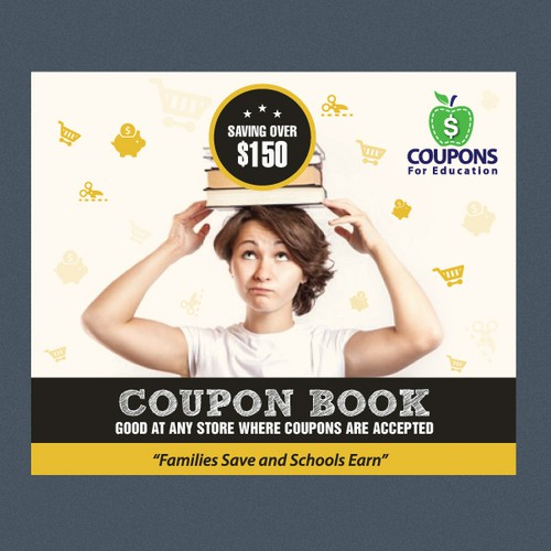 Coupon Book Cover Design