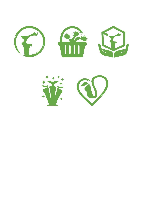 Icon Designs für Onlineshop von fleischfressenden Pflanzen und Zimmerpflanzen gesucht