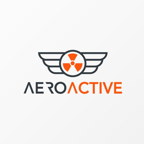 Logo winner for AEROACTIVE. A brand who promote and manufacture longboards, bikes etc