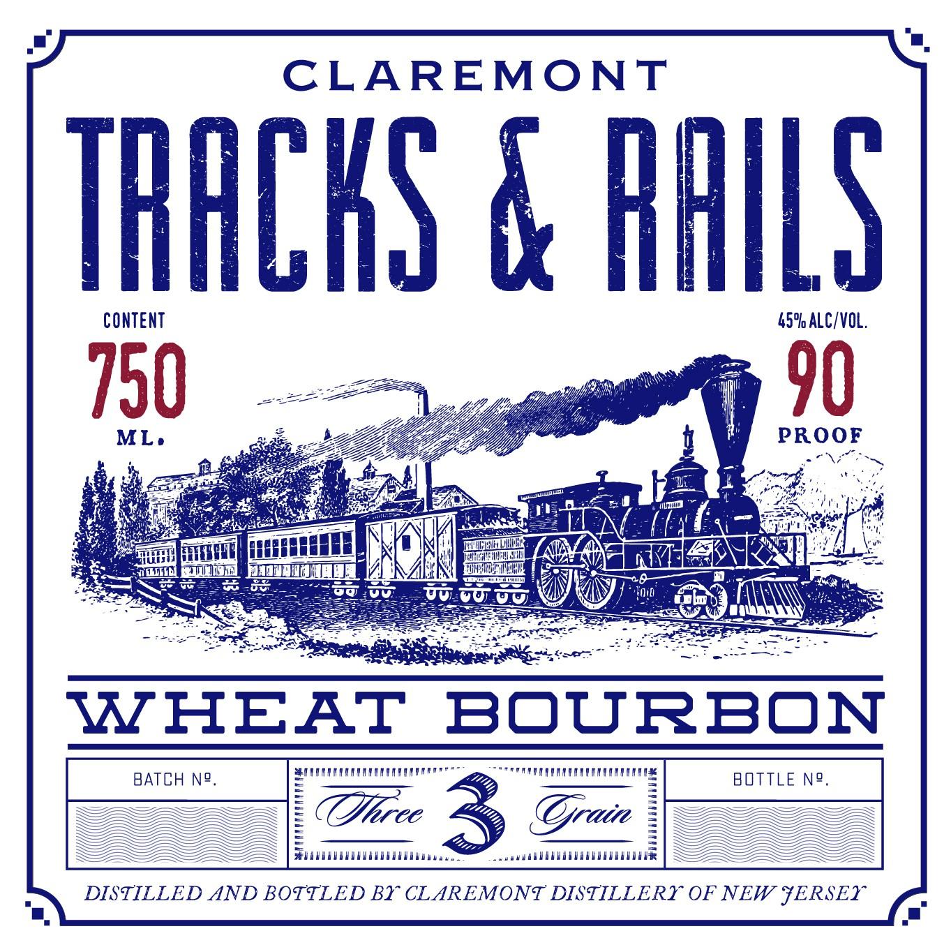 Tracks & Rails Wheat Bourbon