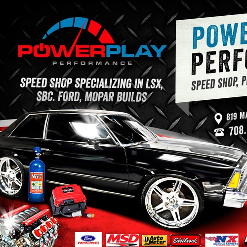 POWER PLAY PERFORMANCE FLYER