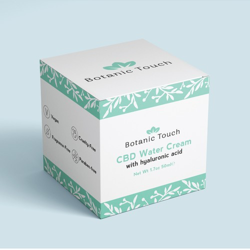Botanic Touch Box Packaging Design
