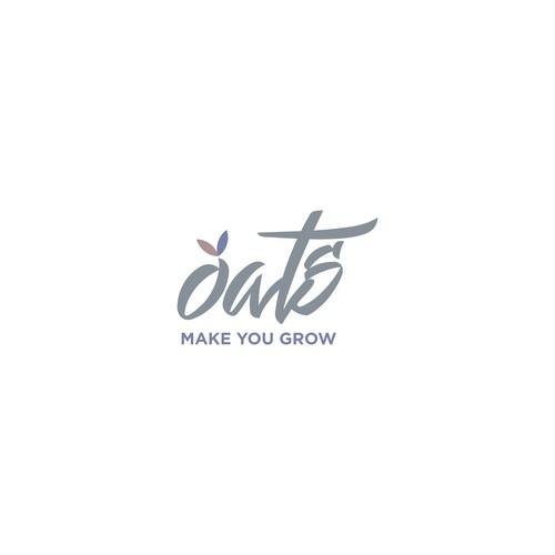 Logo concept for oats
