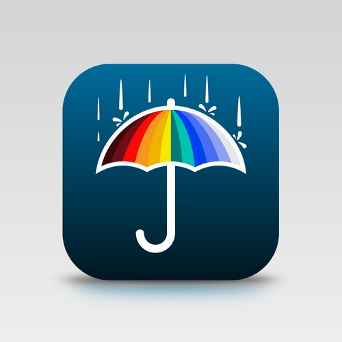 Unique icon for a weather app