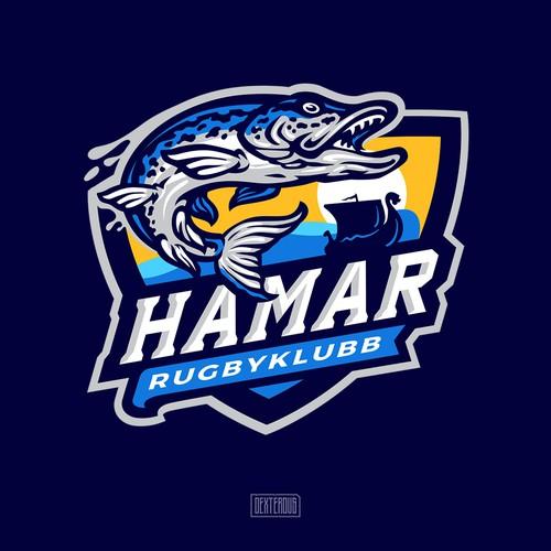 Hamar Rugbyklubb Logo