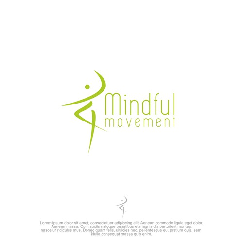 Mindful Movement : Health and Fitness Logo Design