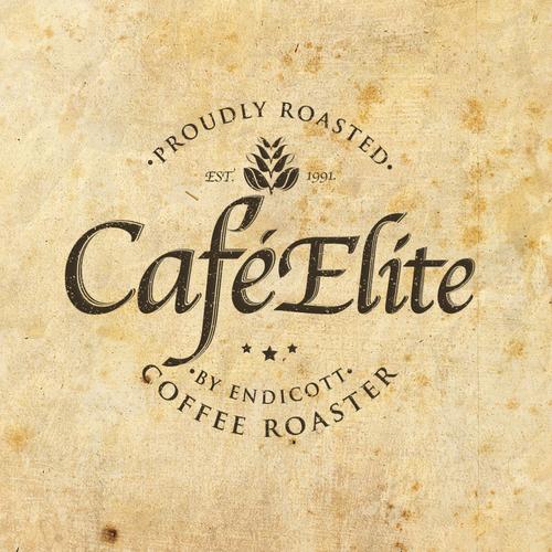 elite cafe branding