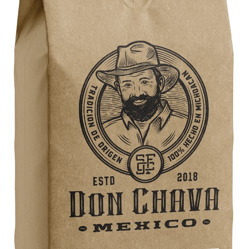 Logo design for coffee company from Mexico