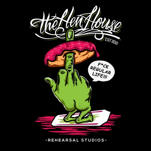 T-shirt Design for the Hen House