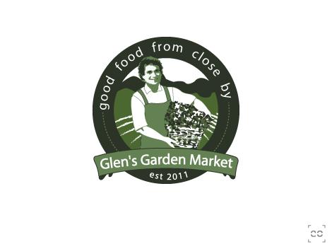 logo for Glen's Garden Market