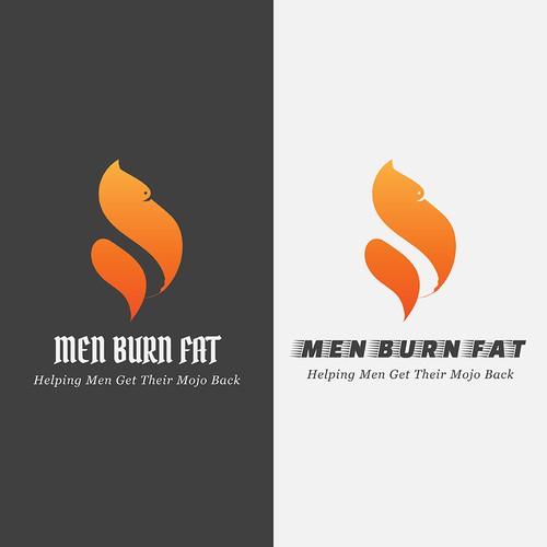 Logo concept for Burning Fat