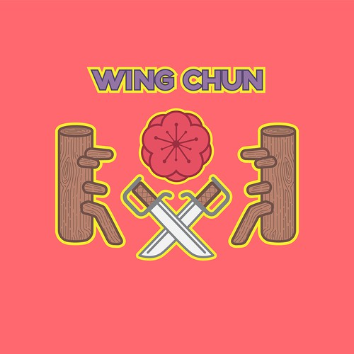 Cute Icons for Female Wing Chun Academy