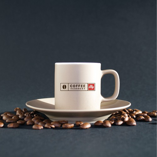 "Create ""Coffee Corner"" brand/sign"