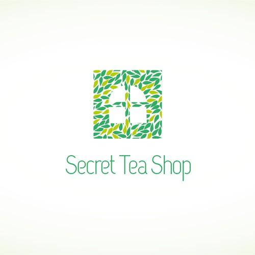 Create the next logo for Secret Tea Shop