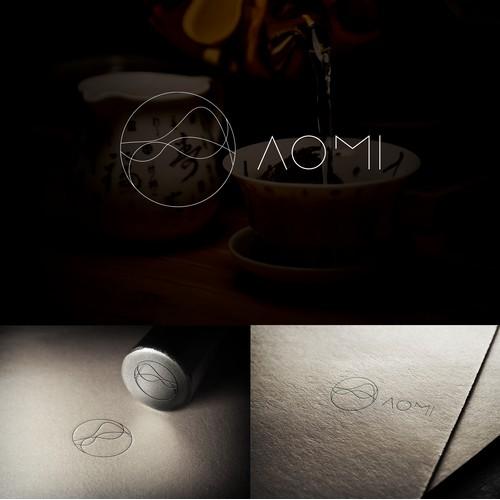 Logotype for AOMI Tea