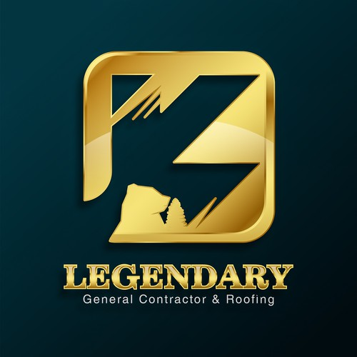 luxury masculine logo for JK LEGENDARY