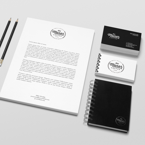 Classic, aesthetic, and hip Logo for first business.