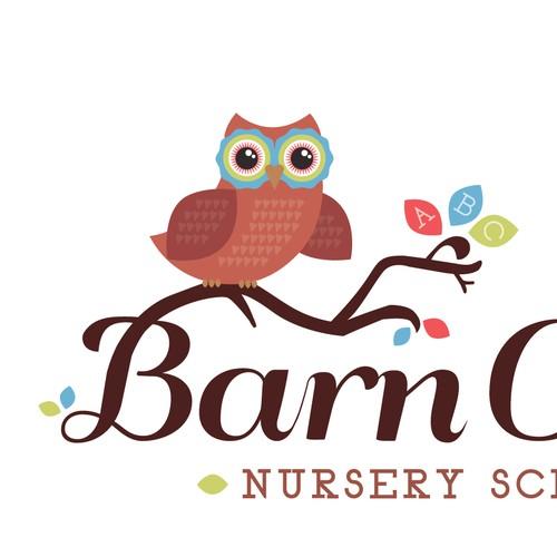 New logo wanted for Barn Owls Nursery School