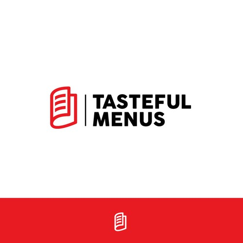 "Re-branding Logo Concept for ""Tasteful Menus"""