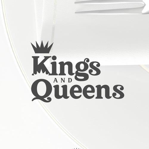 Kings & Queens Logo Design