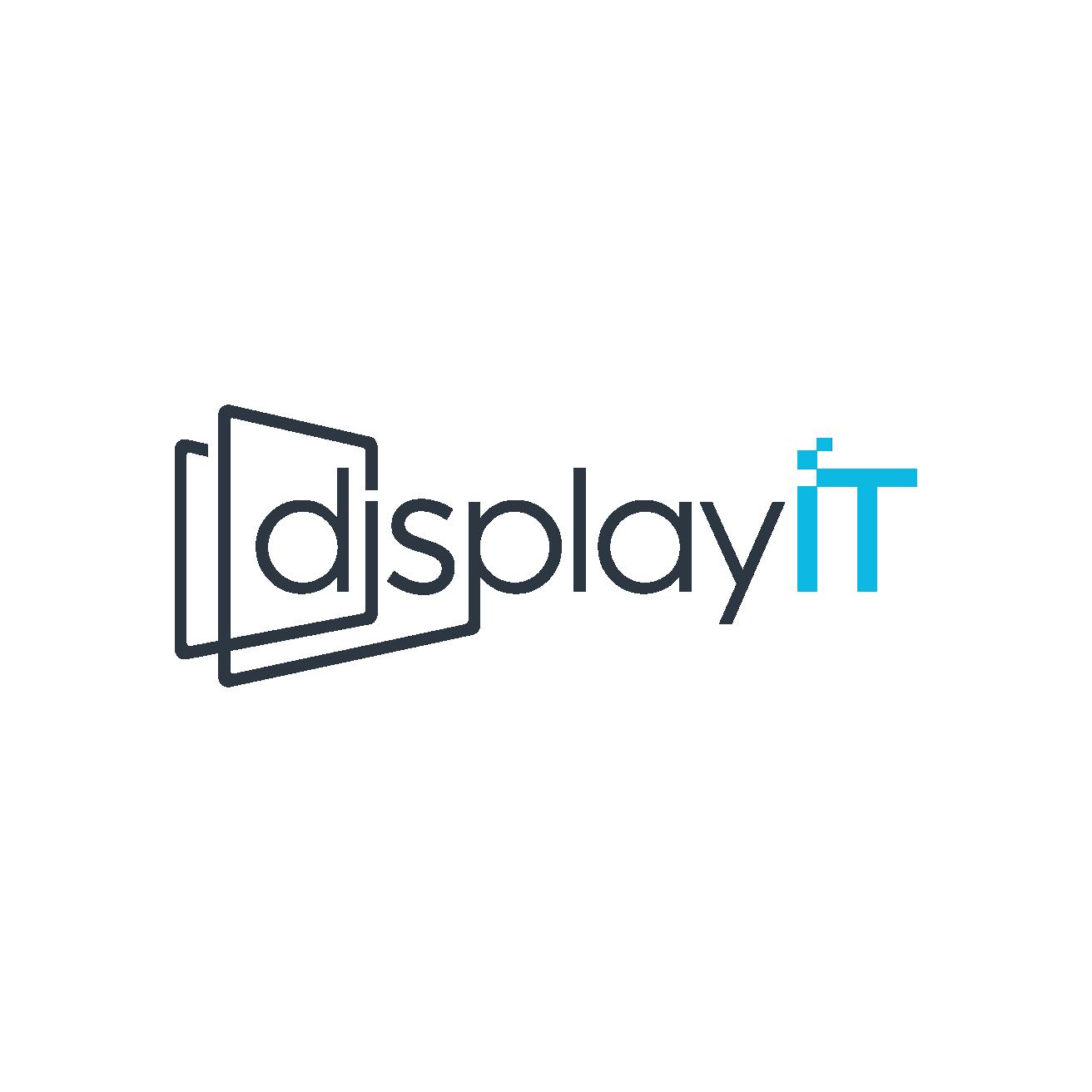 Digital signage platform logo and banners