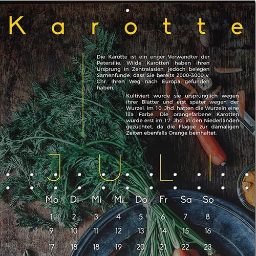 Calendario Organico