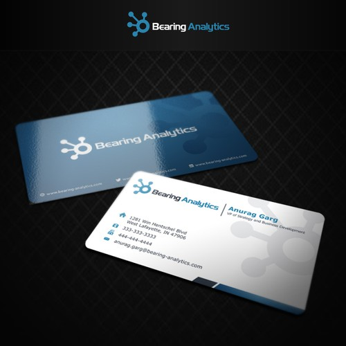 Logo concept for Bearing Analytics