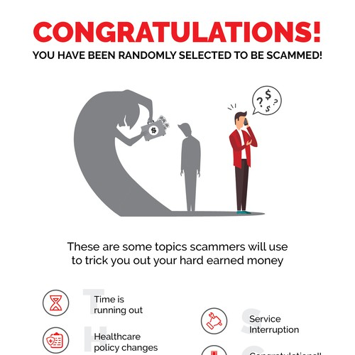 Think Scam Infographic