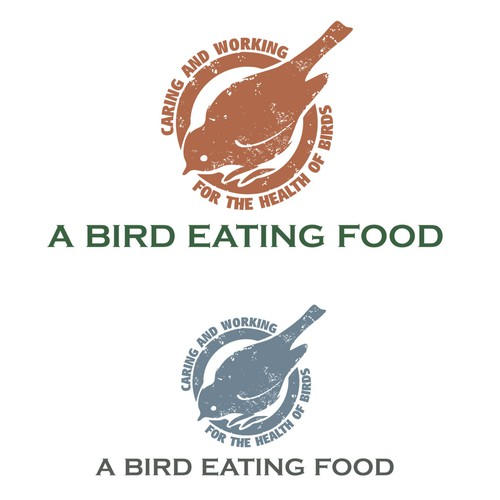 Design for bird food packaging