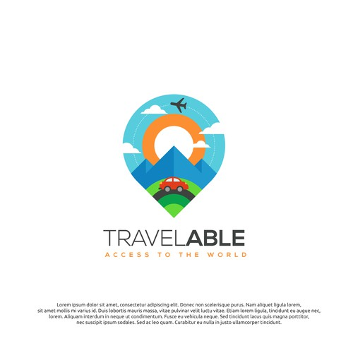 logo concept for travelable