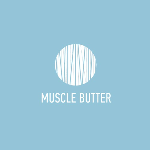 Logo for a muscle butter
