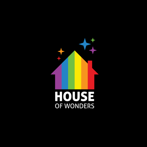 Logo concept for House Of Wonders digital marketing agency