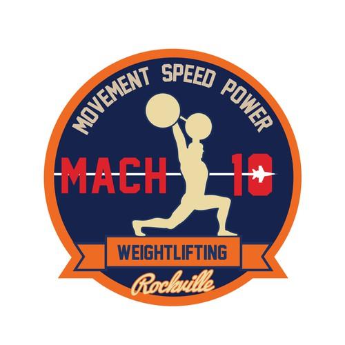 Weightlifting logo