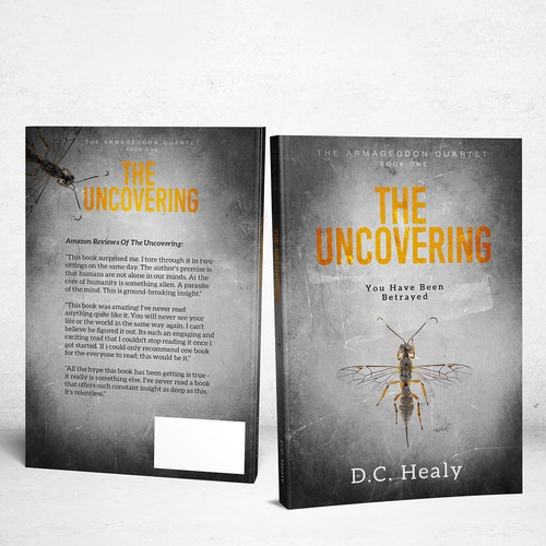 Book cover for The Uncovering