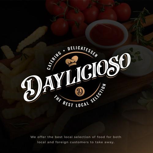 Classical & Stylish Deli Logo