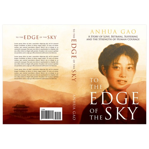 """Book cover for """"The Edge of the Sky"""""""