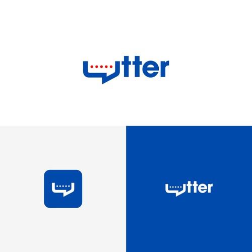 Bold logo for utterreview.com