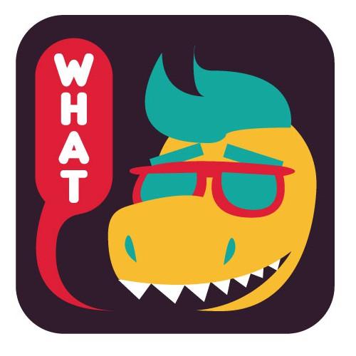 Dinosaur Mascot Icon 3