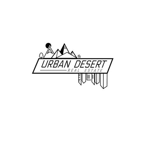 Minimal logo for a real estate company