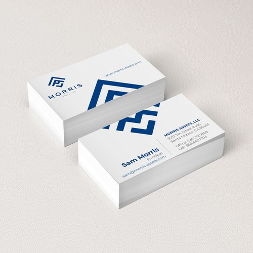 Business Card for Asset Management
