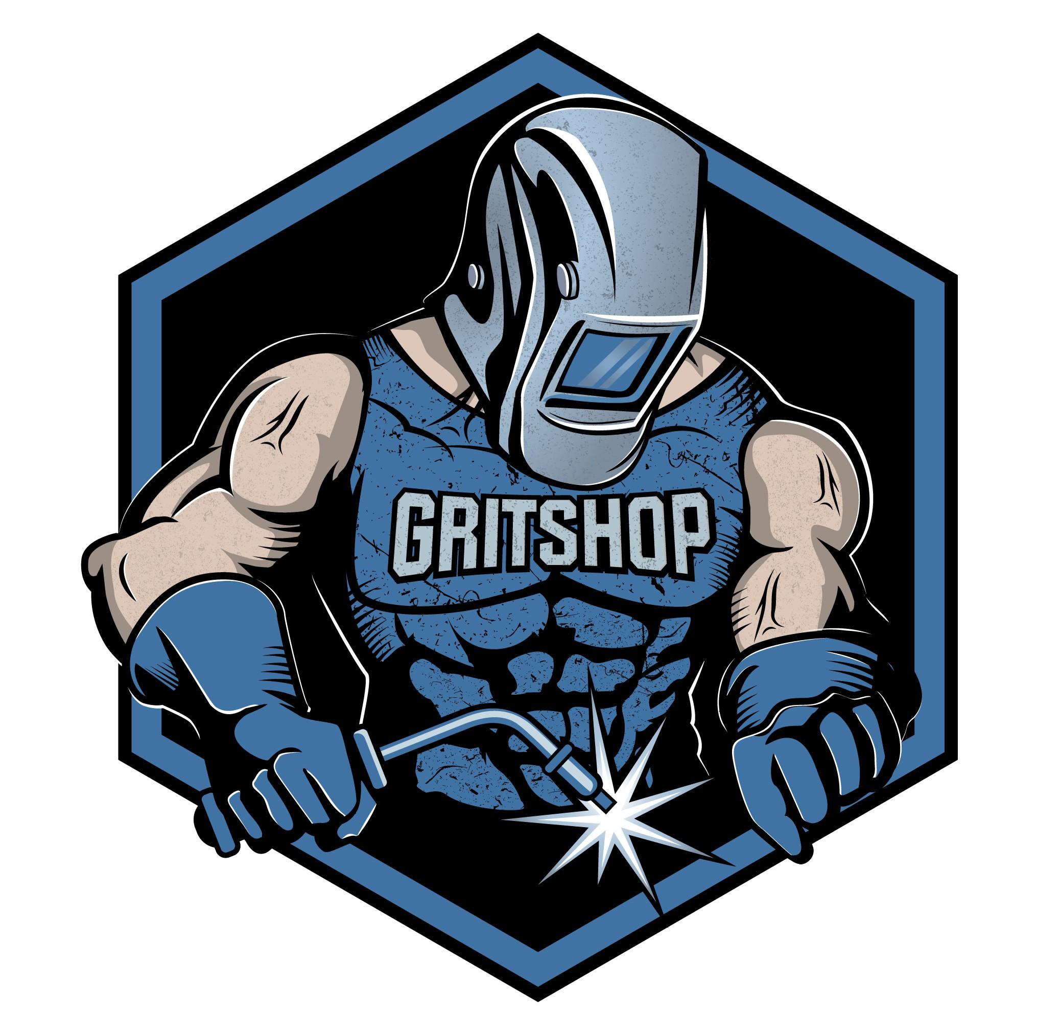 Design a Character Logo for GritShop