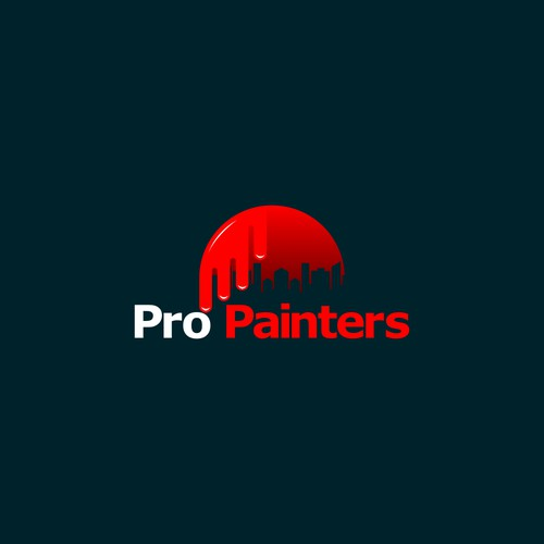 Logo for painting company