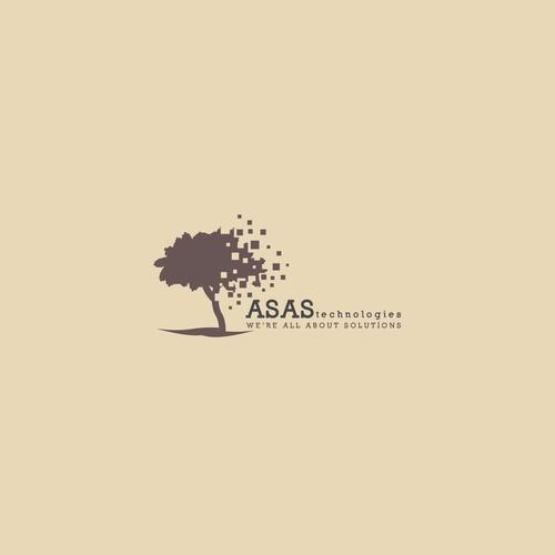 Bold logo concept for ASAS Technologies