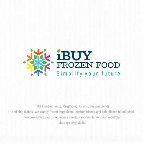 Logo design for iBuy Frozen Food