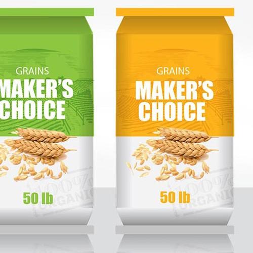 Maker's Choice Feed Bag Design