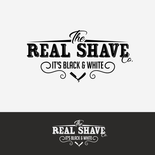 A logo for a shaving company, let's say...